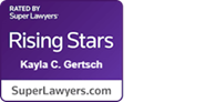 SuperLawyers Rising Star Award for Divorce, Child Custody, and Family Law